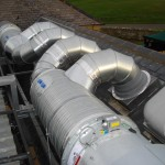 Rooftop Ductwork (Kitchen Ventilation)