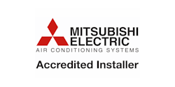 Mitsubishi Accredited Installer (Logo)