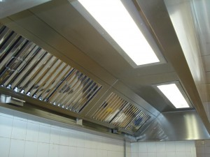 A Kitchen Canopy Installed by Andrew Engineering